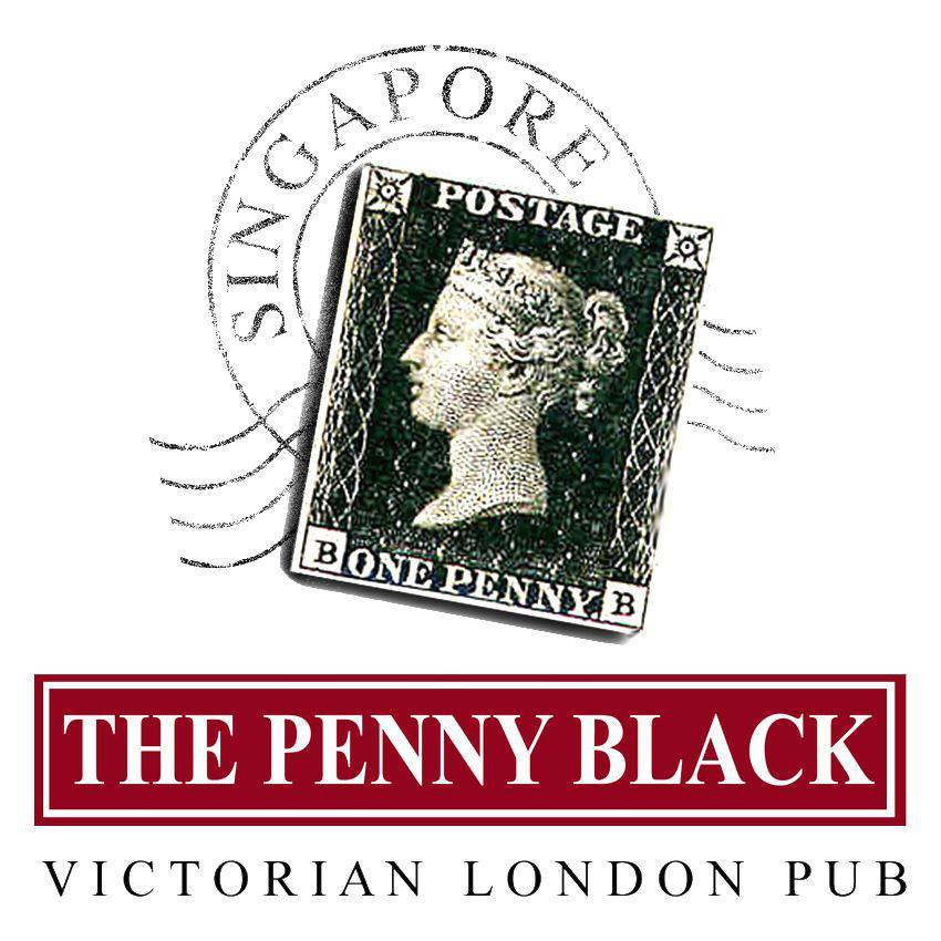 The penny black logo